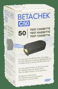 BETACHEK® C50 test cassette